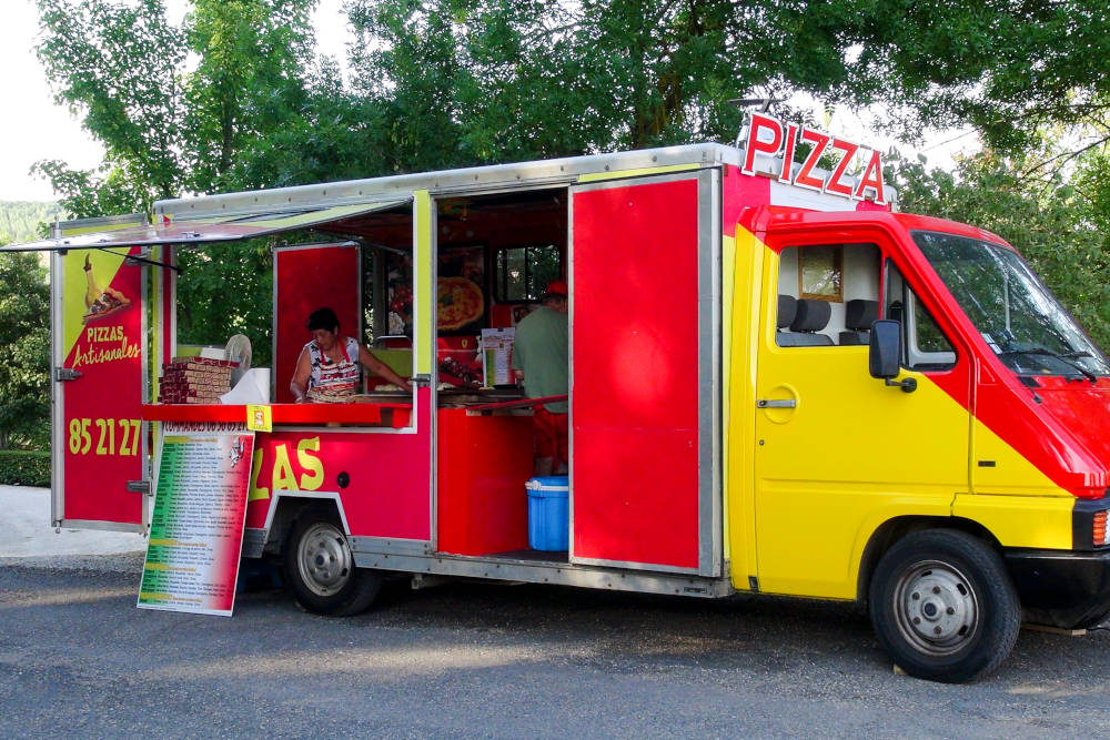 camion pizza gers
