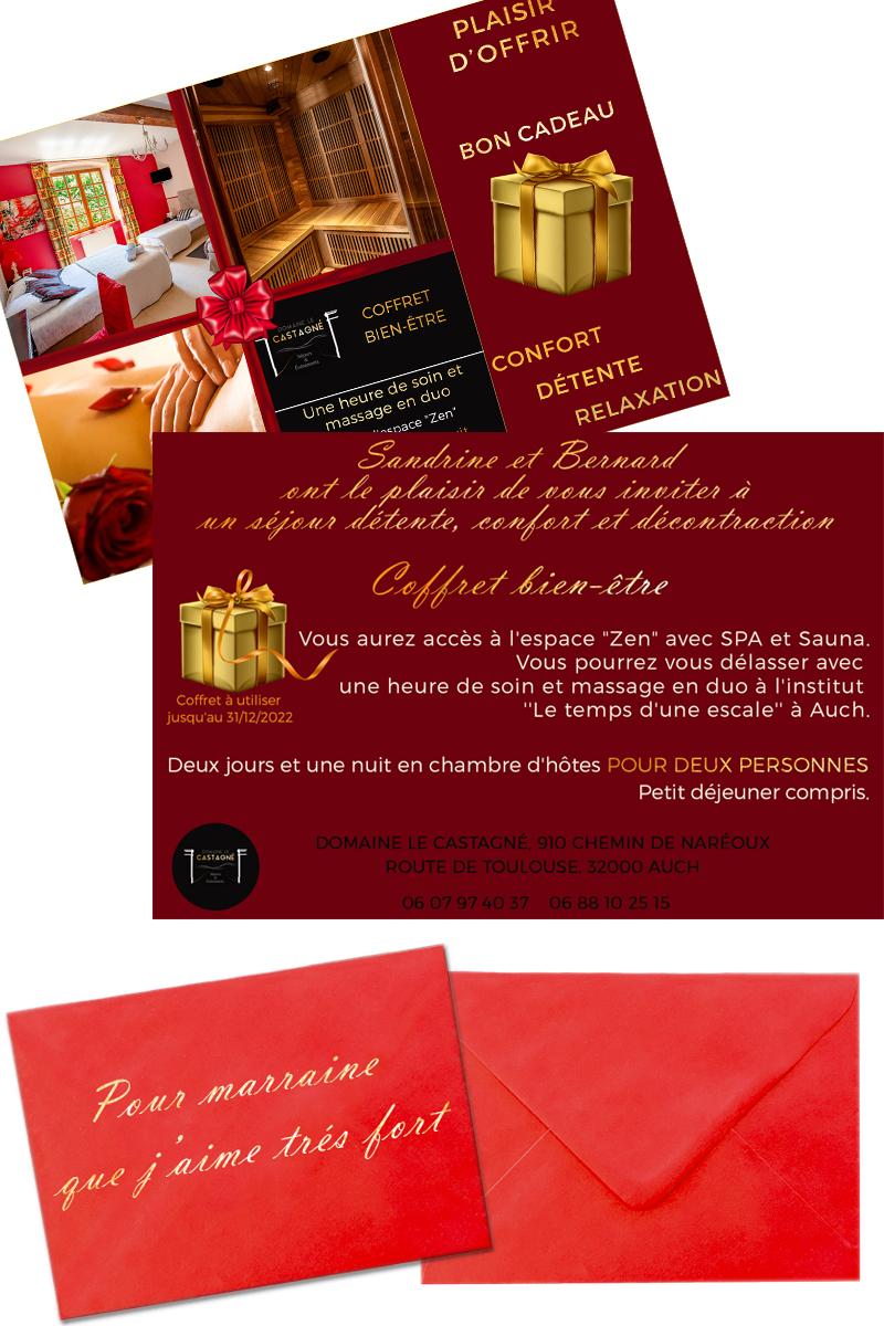 Coffrets cadeaux_hébergement_gers_auch_cadeau_occitanie_vacance_box